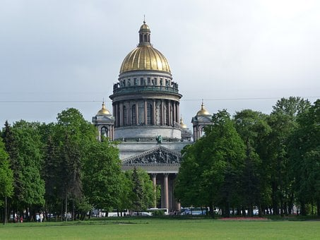 St Isaac's Cathedral, Building, Architecture, Cathedral