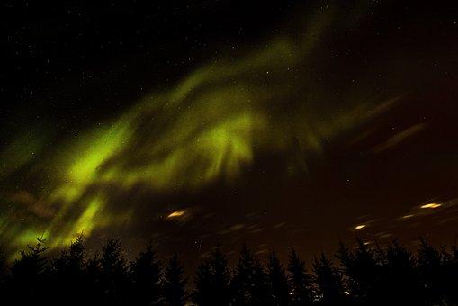 Aurora Borealis, Aurora, Northern, Night, Borealis