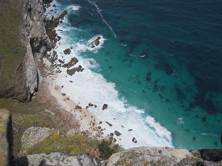 Beach, View From Above, Sea, South Africa