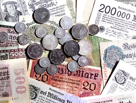 Money, Old, New, Seem, Coins, Bills, Bank Note