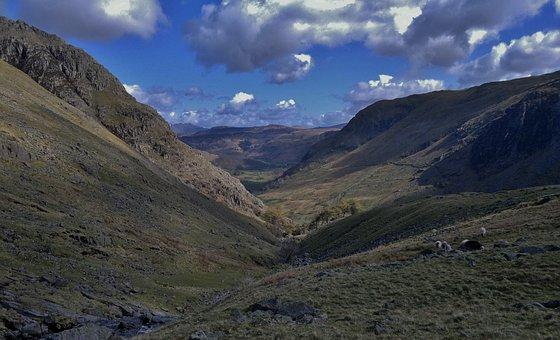Lake District, Mountains, Cumbria, Newlands Pass