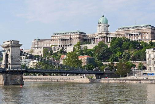 Royal Palace, Budapest, Chain Bridge, Danube, River