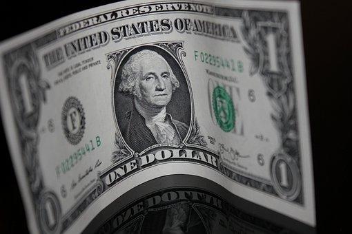 Money, Dollar Bill, Paper, One, Dollar, Currency, Cash