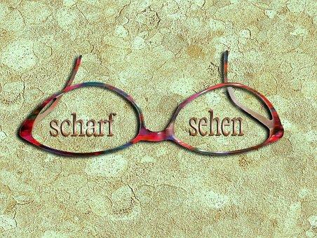 Glasses, Glass, Optics, Overview, Eyeglass Frame