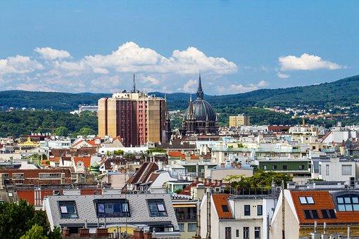 Vienna, Panorama, City Panorama, View, Good View