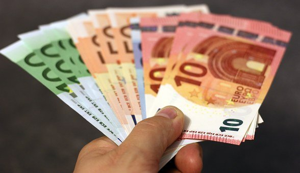 Money, Bank Note, Euro, Hand, Banknote, Currency