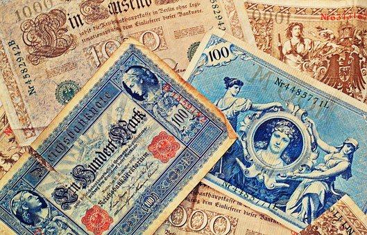 Bank Note, Imperial Banknote, Currency, Inflation