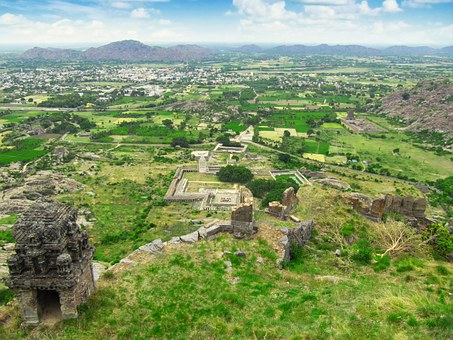 Landscape, East India, India, High View, Rural