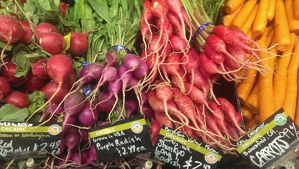 Vegetables, Market, Store, Healthy, Food, Organic