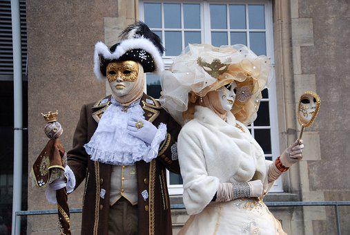 Mask, Disguise, Carnival, Mask Of Venice, Costume