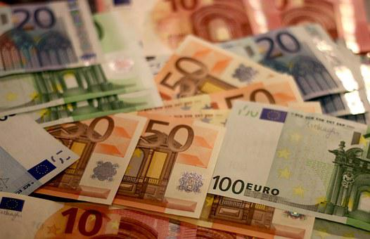 Money, Bank Note, Euro, Banknote, Paper Money, Bill