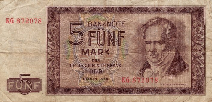 Bank Note, Ddr, Mark, Money, Paper Money, Currency