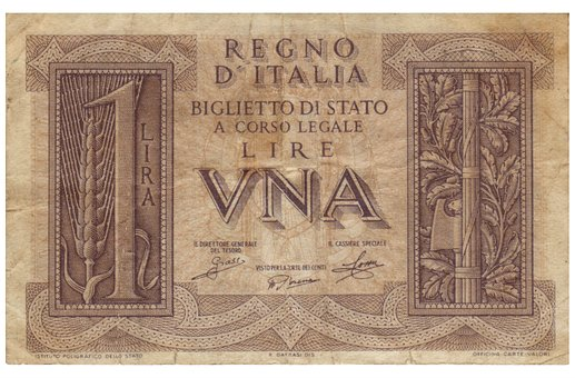 Lire, Banknote, Italy, Money, Paper Money, Old Paper