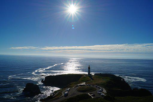 Yaquina, Lighthouse, Oregon, Coast, Newport, Tower
