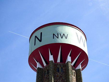 Water Tower, Cardinal, North, South, Is, West, Aircraft