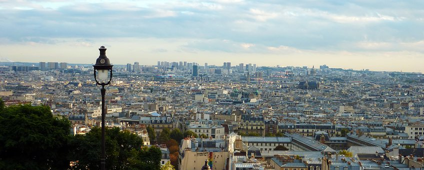 Panorama, Good View, Paris, Outlook, View, Distant View