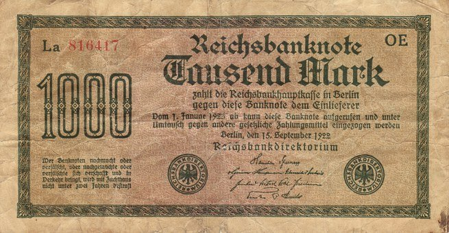 Paper Money, Banknote, Bank Note, Imperial Banknote