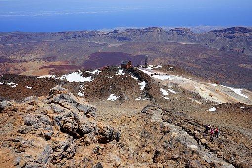 Read Cañadas, Caldera, Teide, View, Good View, Away