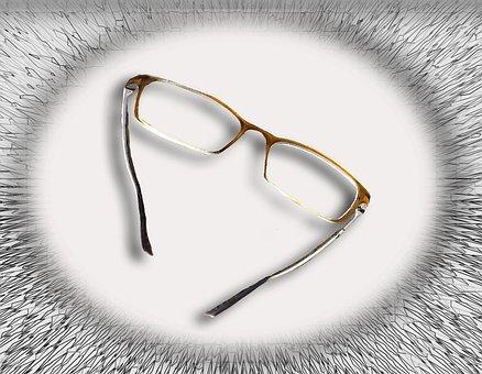 Glasses, See, Read, Optics, Eyeglass Frame, Sharp
