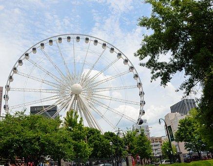 Skyview Ferris Wheel, Atlanta, Georgia, Tourism, Ride