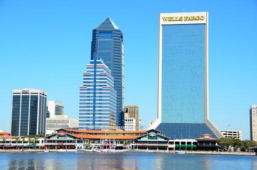 Jacksonville, Florida, Landscape, River Front