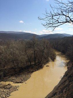 River, Mountains, Krasnodar, Nature, Rock, Mountain