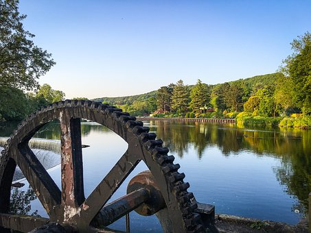 Belper, Derbyshire, Peak District, River, Mill, Peak