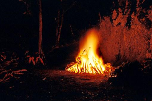 Fire, Night, Rock, Ritual, Seminar, Wilderness