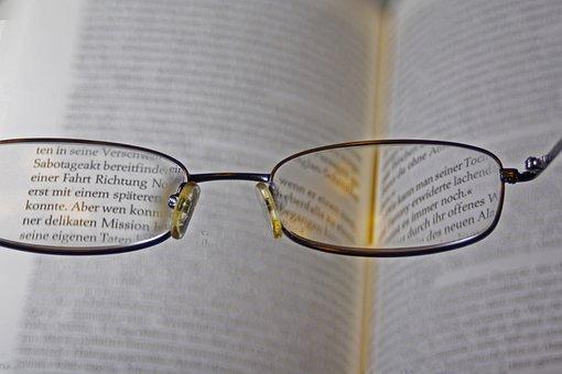 Glasses, Sehhilfe, Reading Glasses, See, Lenses