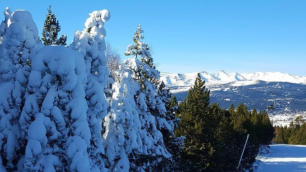 Ski Station, Cambre D'aze, Mountain, Ski, Extreme