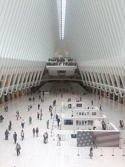 Oculus, Path, Nyc, Trains, Station, Subway