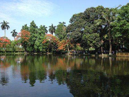 Uncle Ho's Lake, Lake, Vietnam, Vietnamese, Ha Noi