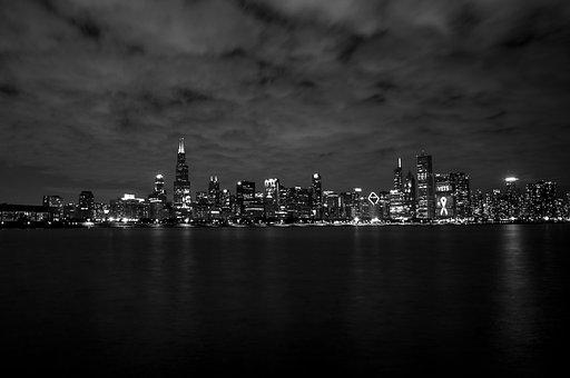 Chicago, City, Architecture, Urban, Illinois, Cityscape