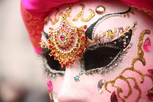 Venetian, Remiremont, Mask, The Eyes, Carnival