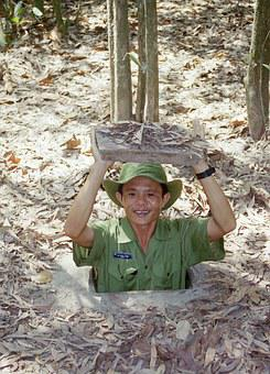Cu, Chi, Tunnels, Vietcong, Vietnamese, Icons