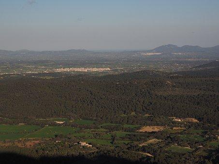 Mallorca, Landscape, Foresight, Good View, View