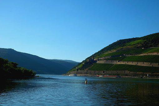 Rhine Valley, River, Viewpoint, View, Outlook
