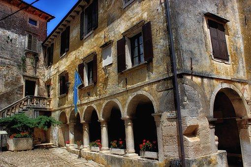 Groznjan, Croatia, Building, City, Town, Architecture