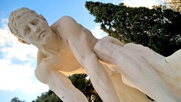 Sculpture, Classic, Stone, Art, Greece, Athens, Statue
