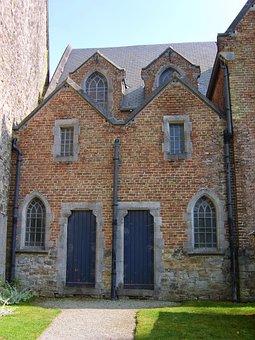 Belgium, Church Doors, Church, Ardennes, Annevoie