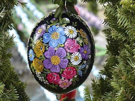 Easter Egg, Easter Well, Biberbach