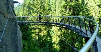 Capilano, Cliffwalk, Vancouver, British Columbia