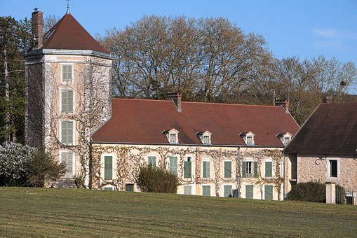 Burgundy, Chatel Censoir, City, House, France, Frontage