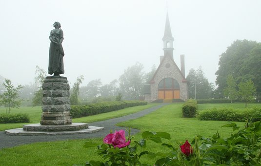 Grand Pre, Acadian, French, Church, Grand, Canada