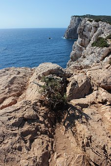 Capo Caccia, Sea, Sardinia, Landscape