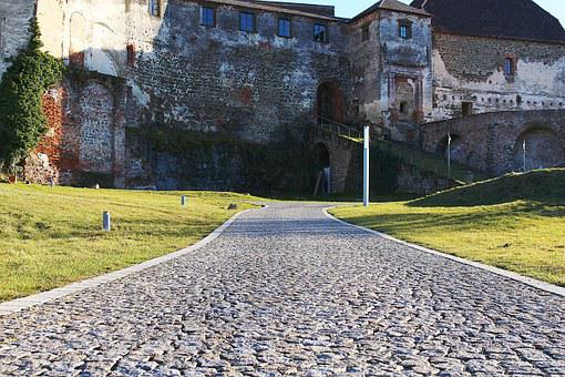 Castle Wall, Castle, Güssing, Burg Güssing