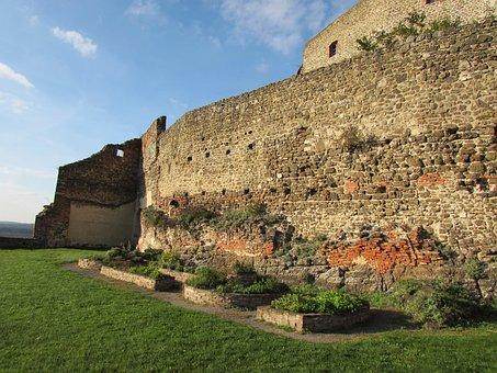 Castle Wall, Masonry, Castle, Knight's Castle, Austria