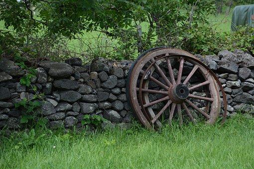 Wheel, Charette, Field