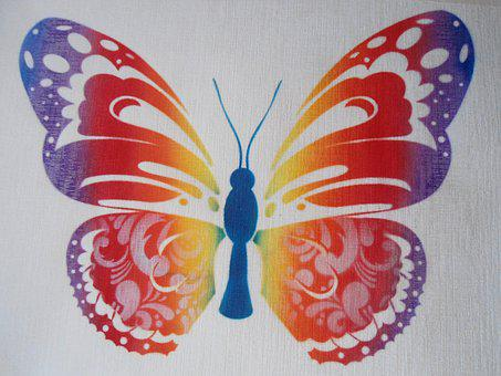 Butterfly, Colorful, Color, Nature, Flower, Butterflies