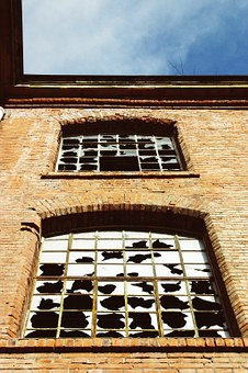 Factory From, Building, Ruin, Decay, Dilapidated